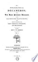 The Bibliographical Decameron