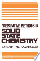 Preparative Methods in Solid State Chemistry