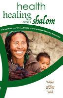 Health  Healing  and Shalom