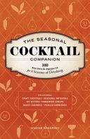 The Seasonal Cocktail Companion