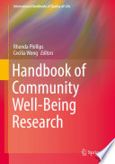 Handbook of Community Well Being Research