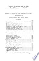 Bulletin of the Geological Society of America