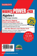 Algebra 1 Power Pack