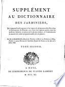 illustration Dictionnaire des jardiniers ... :