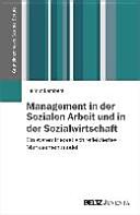 Management in der Sozialen Arbeit und in der Sozialwirtschaft