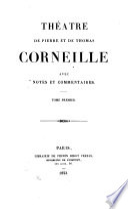 Theatre de Pierre et de Thomas Corneille
