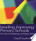 Leading Improving Primary Schools