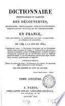 Dictionnaire chronologique et raisonn   des descouvertes     en France  de 1789    1820
