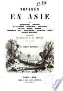 Voyages en Asie par Timkowski      et al