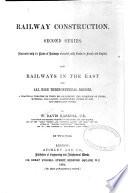 Railway Construction, Second Series