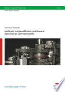 Verfahren zur Identifikation nichtlinearer dynamischer Getriebemodelle