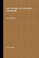Safe Storage of Laboratory Chemicals