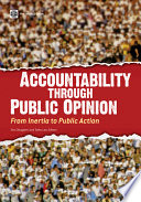 Accountability through Public Opinion