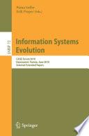 Information Systems Evolution book