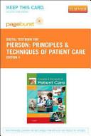 Principles   Techniques of Patient Care