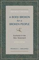 Body Broken for a Broken People  A Book PDF