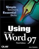 Using Microsoft Word 97