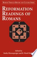 illustration du livre Reformation Readings of Romans