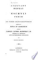 Aeschili Persae