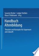 Handbuch Altenbildung