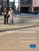 Applied Thermodynamics for Engineering Technologists  Fifth Edition