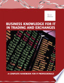 Review Business Knowledge for It in Trading and Exchanges
