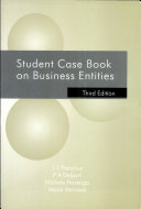 Student case book on business entities
