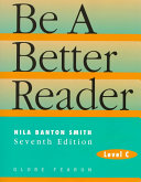 Be a Better Reader  Level C