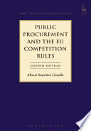 Public Procurement and the EU Competition Rules