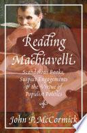 Reading Machiavelli Pdf/ePub eBook