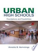 Urban High Schools