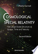 Cosmological Special Relativity