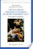 Vénus & Adonis (1697)