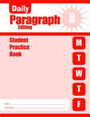 Daily Paragraph Editing  Grade 8 Student Book 5 Pack