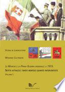 Le Marche e la Prima Guerra Mondiale  il 1915