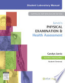 Jarvis S Physical Examination And Health Assessment Student Lab Manual