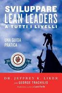 sviluppare lean leader a tutti i livelli