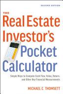 download ebook the real estate investor\'s pocket calculator pdf epub