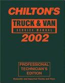 Truck and Van Service Manual  1998 2002