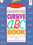 D Nealian Handwriting Cursive ABC Book