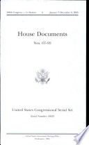United States Congressional Serial Set  108th Congress  Serial No  14829  House Documents No  67 95