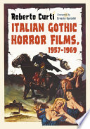 Italian Gothic Horror Films 1957 1969