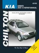 Kia Sorento Automotive Repair Manual 2003 13