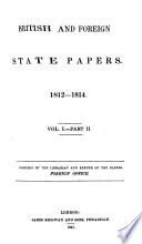 British and Foreign State Papers