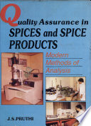Quality Assurance in Spices and Spice Products