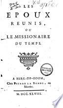 Les epoux reunis, ou le missionaire du temps