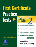 First Certificate Practice Tests Plus 2