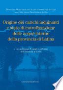Origine dei carichi inquinanti e stato di eutrofizzazione delle acque interne della provincia di Latina