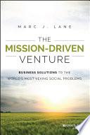 The Mission Driven Venture