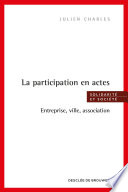 La participation en actes